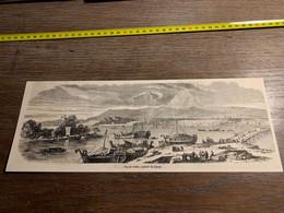 1858 MI2 GRAVURE Vue De Jeddo Capitale Du Japon - Collections