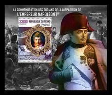 Chad 2020 Mih. 4332 (Bl.948) Emperor Napoleon Bonaparte MNH ** - Chad (1960-...)