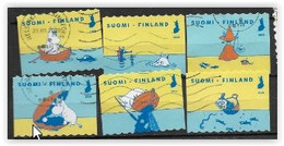 Finlande 2020 2644/2649 Oblitérés Mer Baltique - Used Stamps