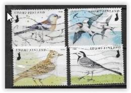 Finlande 2020 2653/2656 Oblitérés Oiseaux - Used Stamps