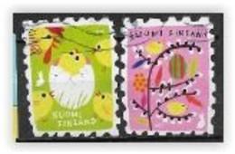 Finlande 2020 2650/2651 Oblitérés Pâques - Used Stamps