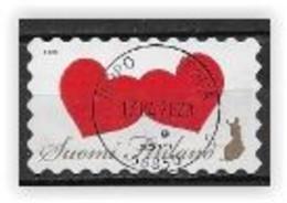 Finlande 2020 2652 Oblitérés Coeurs - Used Stamps