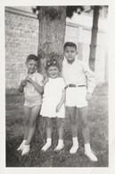 12049.  Fotografia Vintage Bambini 1947 Brescia  - 9x6 - Anonymous Persons