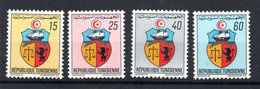 1969 - Tunisia - Tunisie - Coat Of Arms - Armoiries - Complete Set 4v.MNH** - Tunisia