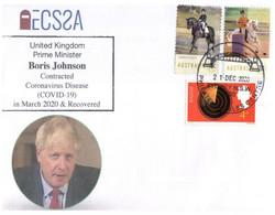 (PP 21) UK - Person Whon Contracted Coronovirus - COVID 19 - Boris Johnson - UK Prime Minister - Disease