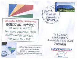 (PP 21) Australia - COVID-19 Waves 1 To 4 In Seychelles Islands - Disease