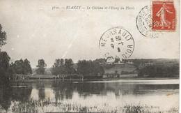 21- BLANZY - Le Château Et L'Etang Du Plessis - Autres Communes