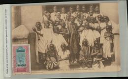Afrique Mali  SOUDAN Français  MOPTI Groupe De Fillettes En Tenue De Fete  (Mai 2021 31) - Sudan