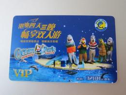 Hong Kong And Macao Travel Promotion Card, HongKong Ocean Park - Unclassified