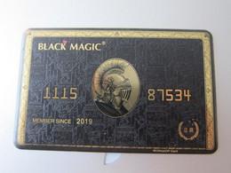 UltimaVIP Black Magic Card - Unclassified