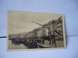 4 . TOULON 83 VAR LE CARRE DU PORT CPA ART PHOTO GUERIN QUAI CRONSTADT TOULON - Toulon