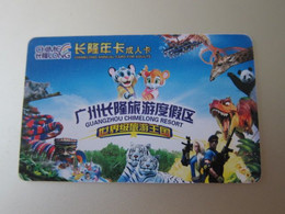ChimeLong Amusement Park Adults Entry Card - Unclassified