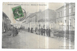 Ménil-Annelles Mairie Et Grand'Rue - Altri Comuni