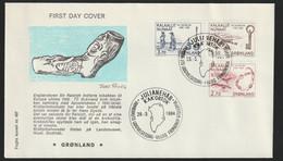 Greenland FDC 1984 Millenium (DD15-33) - FDC