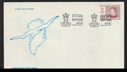 Greenland FDC 1978 Definitive (DD15-33) - FDC