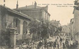 """CPA FRANCE 83 Toulon, Pont Du Las, Les Ecoles"""" - Toulon"""