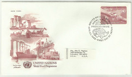 UNS30104 UN United Nations NY 1983 World Food Programme FDC - FDC