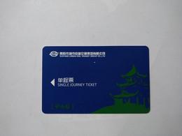 China Transport Cards, View,  Metro Card, Guiyang City, (1pcs) - Non Classificati