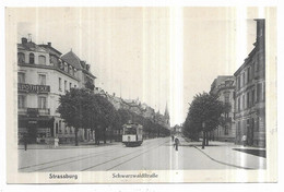 Strassburg Tramway Schwarzwaldftrabe - Strasbourg