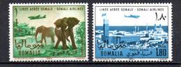 T1-15 Somalie  N° 30 + 31 **  A Saisir !!!  Avions - Somalie (1960-...)