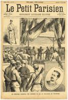 VINCENNES. CONCOURS NATIONAL SOCIÉTÉS DE TIR AU POLYGONE. LE PETIT PARISIEN DU 11 Août 1889. - 1850 - 1899