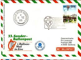 46906 - SONDER BALLONPOST  33 - Covers & Documents
