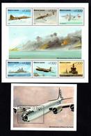 T1-16 Sierra Leone N° 1987 à 1992 + BF 270 ** A Saisir !!!  Avions - Sierra Leone (1961-...)
