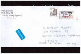 Rep Ceca - Lettera Con Interessante Affrancatura - Covers & Documents