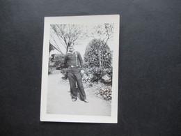 2. Weltkrieg WW2 Original Foto Soldat Der Wehrmacht / Marine / Matrose In Uniform / Ausgehuniform ?! - War, Military