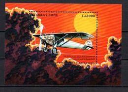 T1-17 Sierra Leone N°  BF 403 ** A Saisir !!!  Avions - Sierra Leone (1961-...)