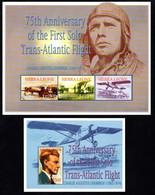 T1-17 Sierra Leone N° 3556 à 3558 + BF 536 ** A Saisir !!!  Avions - Sierra Leone (1961-...)