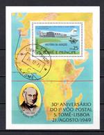 T1-17 Sao Tome Et Principe N° BF Oblitéré A Saisir !!!  Avions - Sao Tome And Principe