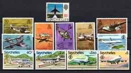 T1-17 Seychelles N° 260A Oblitéré 279 à 284 + 450 + 481 à 484 ** A Saisir !!!  Avions - Seychelles (1976-...)