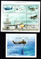 T1-18 Ouganda N° 1658 à 1663 + BF 288 ** A Saisir !!!  Avions - Uganda (1962-...)