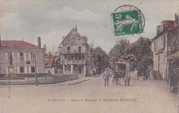 19 -- Brive -- Square Majour Et Route De Bordeaux -- Attelage/cheval --- 3898 - Brive La Gaillarde