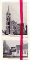 Orig. Knipsel Coupure Tijdschrift Magazine - Lichtervelde - Kerk & Hoefsmederij - 1959 - Unclassified