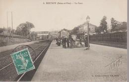 BRUNOY  -    LA GARE - Brunoy