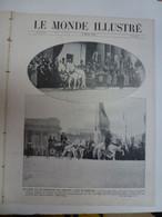 Le Monde Illustré 15 Mars 1913 Russie Empereur Nicolas II Romanoff Prise De Janina Col Du Lautaret - 1900 - 1949