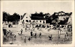 CPA Saint Marc Sur Mer Loire Atlantique, Un Coin De La Plage - Other Municipalities