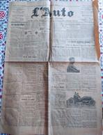 L'AUTO - N°1720 Quotidien Du 1 Juillet 1905 - Other