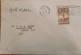 A) 1946, CANADA, SPREAD BY EFFORT IN WAR, FROM VANCOUVER TO MEXICO, AIRMAIL, THE PARLAMENT OTTAWA, CANCELLATION - Cartas