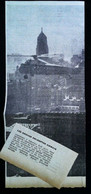 ► AVIATION (1958) Hélicoptère Sikorsky S-58 (Chicago Helicopter Airways) Etats Unis  - Coupure De Presse (Encart Photo) - Historical Documents