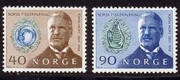 Norvege 1969 Yvert 540 / 541 ** TB - Unused Stamps