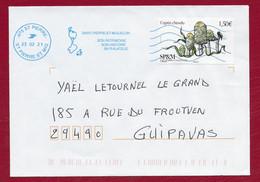 """St.Pierre Et Miquelon 2020 Oblitéré  YT 1247 '' CHAMPIGNON  COPRIN  """"  Néopost   St.PIERRE 2021 - Covers & Documents"""
