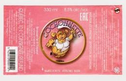 """Etiquette De Bière Belge """" COCHONNETTE """" (1071)_Eb210 - Beer"""