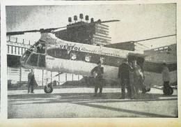 ► AVIATION (1958) Hélicoptère De La VERTOL Aircraft Co. U.S.A. - Coupure De Presse (Encart Photo) - Historical Documents