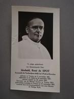 Bidprentje EH Idesbald, René De Spot ° Veurne 1881 Er Overl 1962 Kanunnik Norbertijnerabdij't Park  Heverlee - Todesanzeige