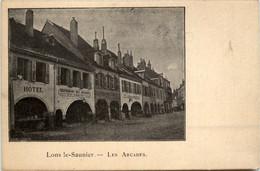 Lons Le Saunier - Les Arcades - Jura - Lons Le Saunier