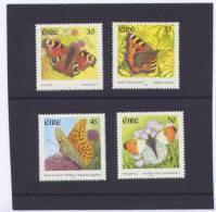 Ierland Irlande 2000 Yvertn° 1279-82 *** MNH Cote 6,75 Euro Papillons Vlinders - Unused Stamps