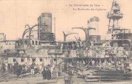 83 - TOULON / CATASTROPHE DU IENA - LA RECHERCHE DES CADAVRES - Toulon